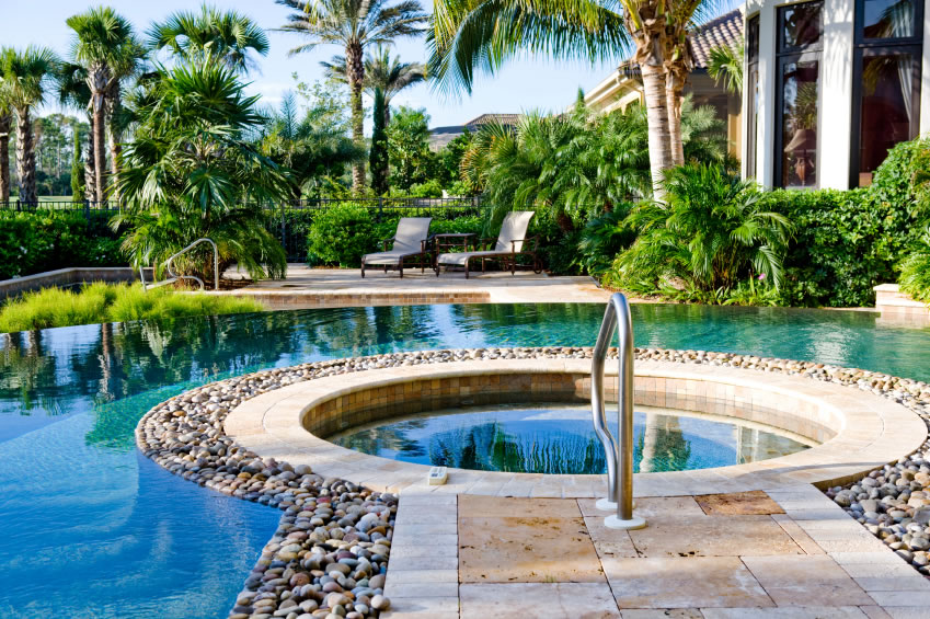 Florida Pool Landscaping Ideas 849 x 565