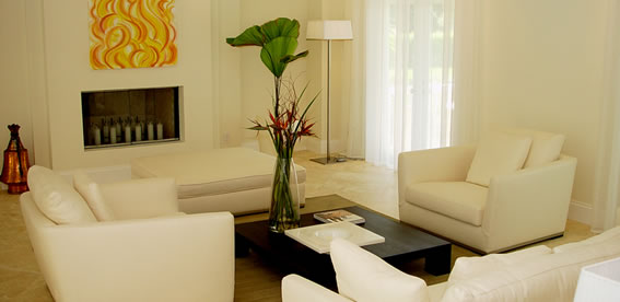 Living Room Interior Designer Miami