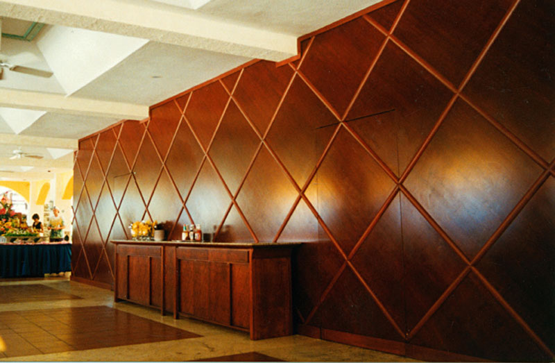 Wall Paneling Designs For Office : Wood wall panel design the interior inspiration board