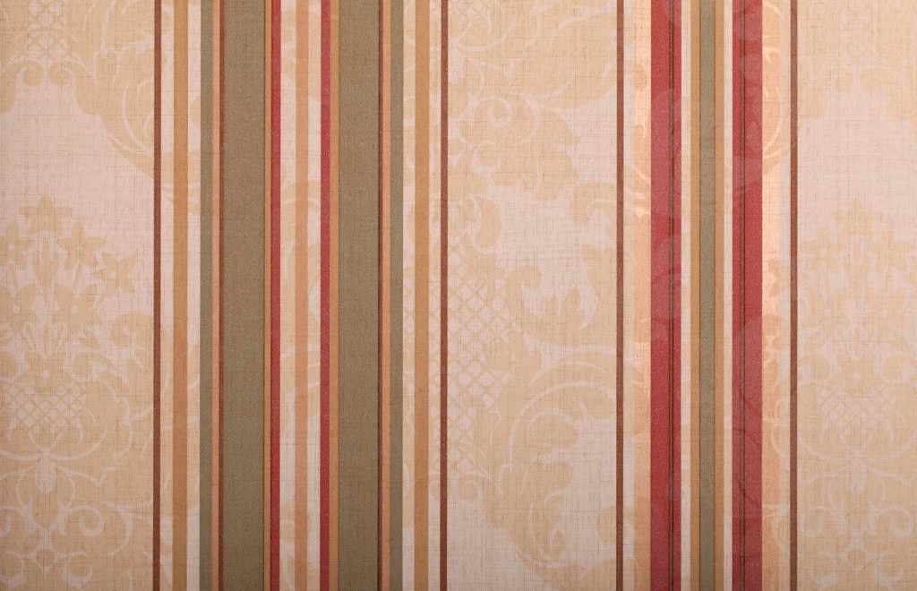 striped pattern vintage wallpaper