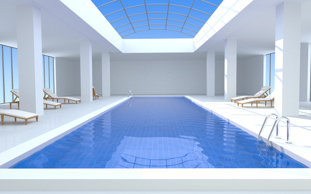 Luxury Indoor Outdoor Pool