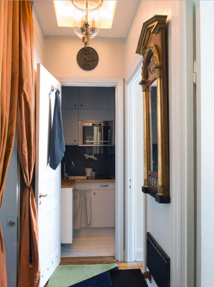 Stockholm apartment, hallway