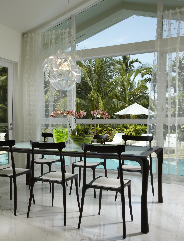 Miami Dining Room Interior Design Services, Modern Dining Room Furniture Miami Beach