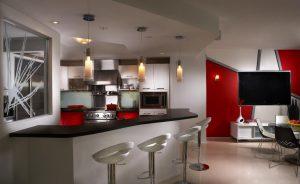 Kitchen by Miami interior designer